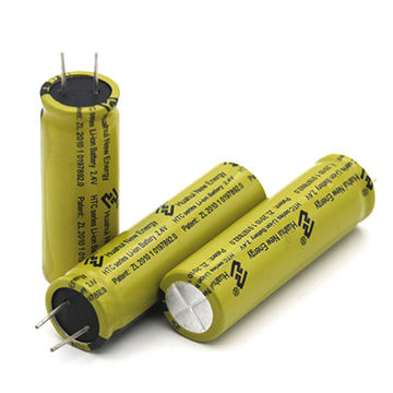 Top Quality LTO 18650 Lithium-titanate Battery 2.4V 1300mAh